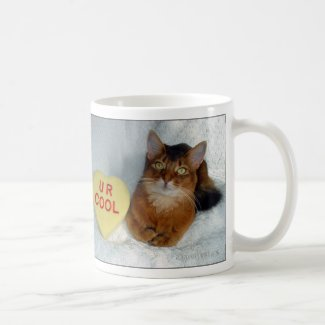 Sparkle's Somali Cat U R Cool Mug