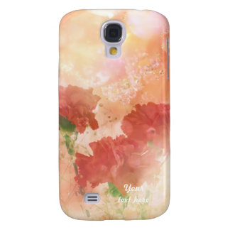 Sparkliing Carnations Galaxy S4 Cover
