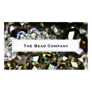 Sparkling Beads HDR Business Cards