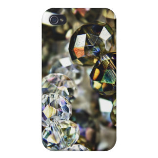 Sparkling Beads iPhone 4 case