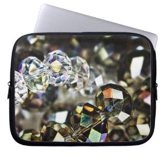 Sparkling Beads laptop sleeve