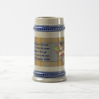 Sparkling Bears New Year Beer Stein