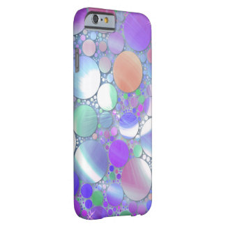 sparkling bubbles purple barely there iPhone 6 case