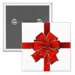 Sparkling Christmas Bow Button