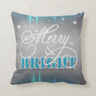 Sparkling Christmas MPOa Throw Pillow