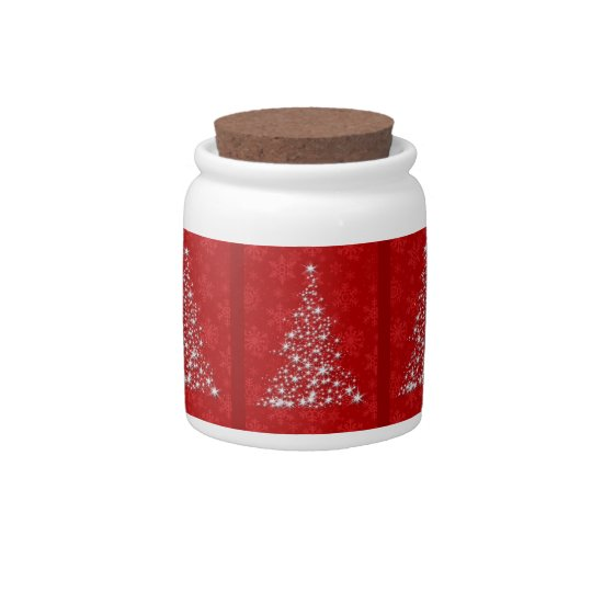 Sparkling Christmas Tree Candy Dishes