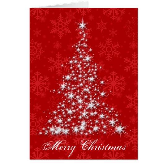 Sparkling Christmas Tree Card