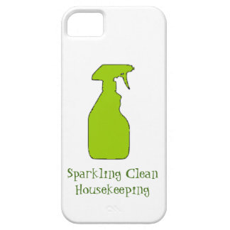 Sparkling Clean Housekeeping iPhone SE/5/5s Case