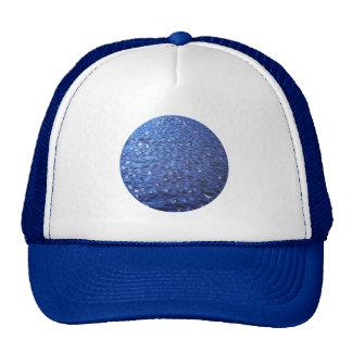 Sparkling Clear Blue Ocean Water Waves Photo Trucker Hat