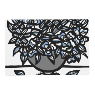 Sparkling Dazzling Transforming Clean Laminated Place Mat