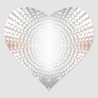 SPARKLING FOCUS LIGHT HEART STICKER