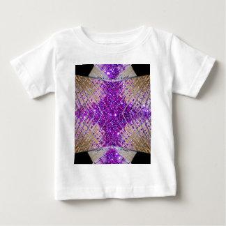 Sparkling Futuristic Abstract Designer Baby Tshirt