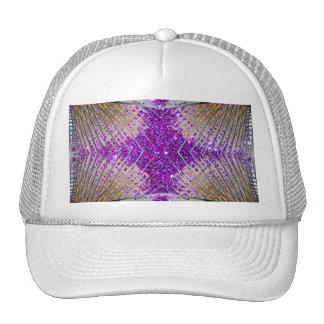 Sparkling Futuristic Design Ballcap Hat