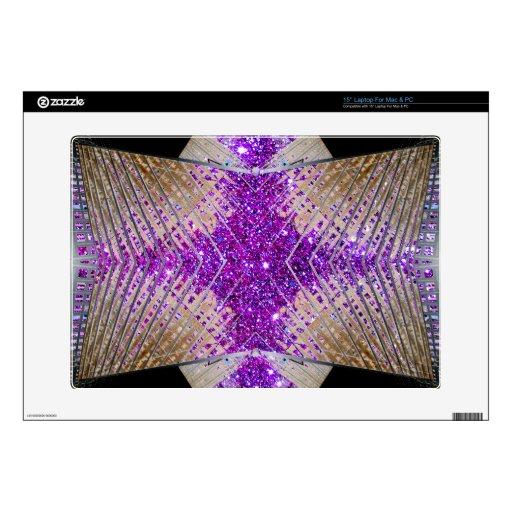 Sparkling Futuristic Designer Laptop Skin