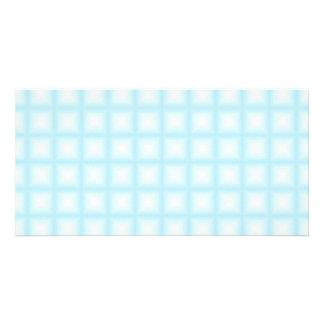 Sparkling Gem Tiles Choose Your Custom Color Photo Card