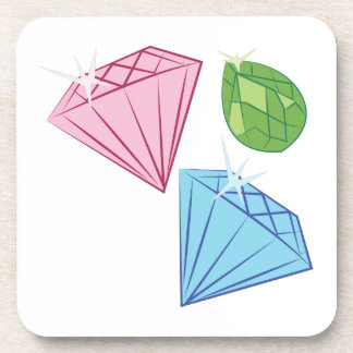 Sparkling Gems Beverage Coaster