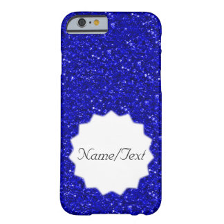 sparkling glitter inky blue barely there iPhone 6 case