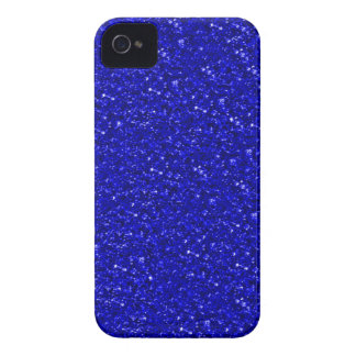 sparkling glitter inky blue iPhone 4 Case-Mate cases
