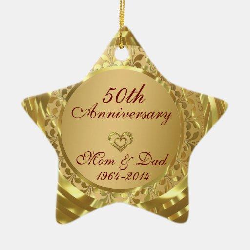 50th Anniversary Christmas Ornament