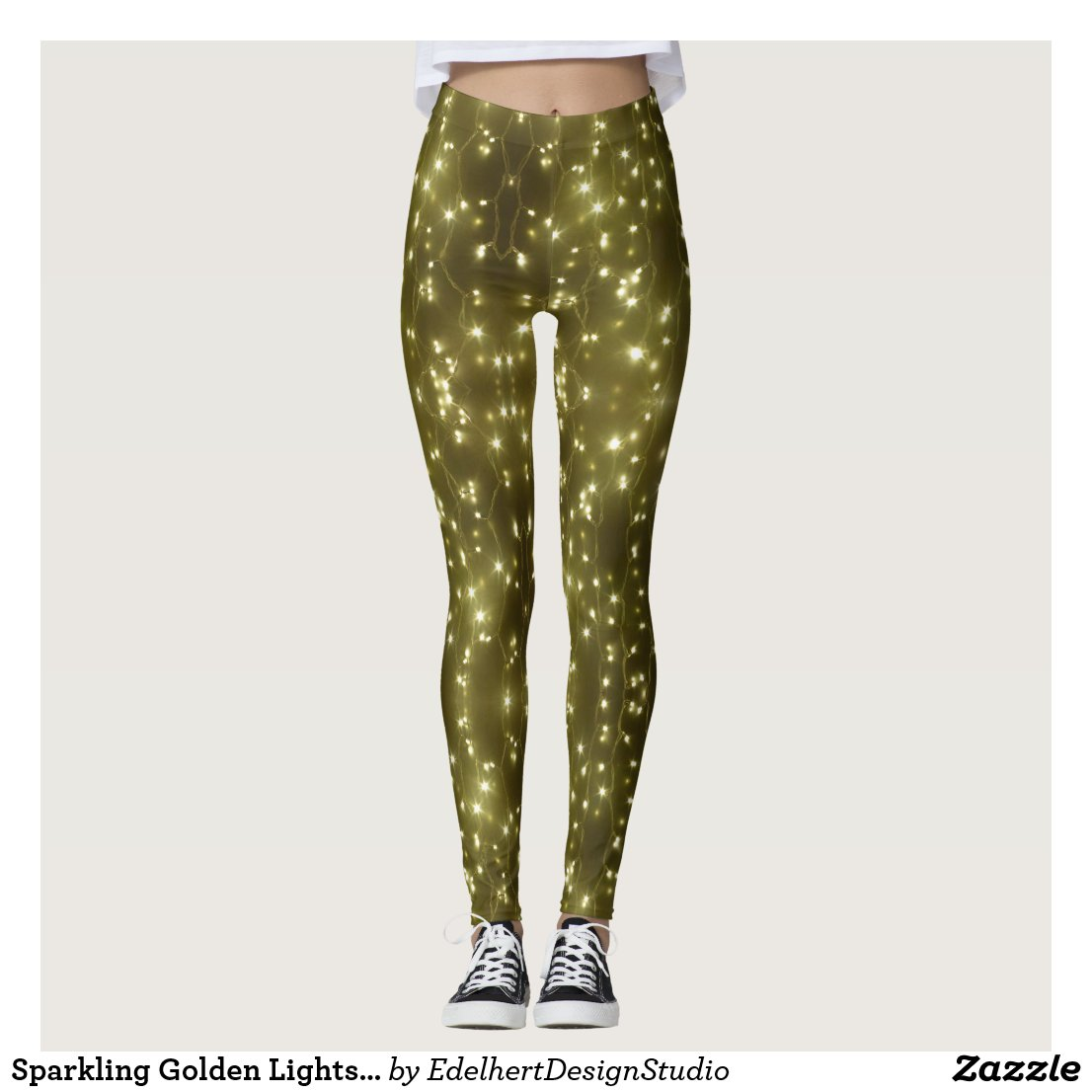 Sparkling Golden Lights Legging