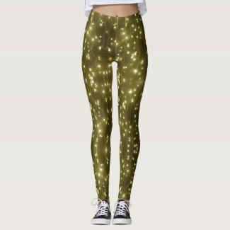 Sparkling Golden Lights Legging