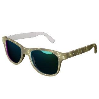 Sparkling Golden Lights Sunglasses