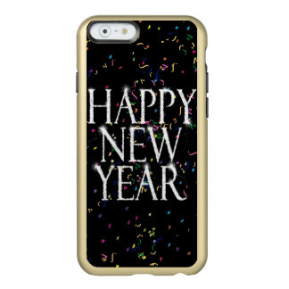Sparkling Happy New Year Incipio Feather Shine iPhone 6 Case