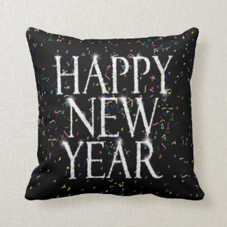 Sparkling Happy New Year Pillow
