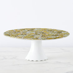 Sparkling Hearts, Cake Stand at Zazzle