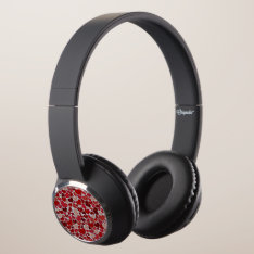 Sparkling Hearts, Headphones at Zazzle