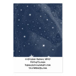 Sparkling Horse Constellation Stars Midnight Blue Business Card Template