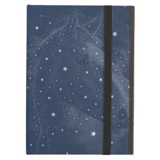 Sparkling Horse Constellation Stars Midnight Blue Case For iPad Air