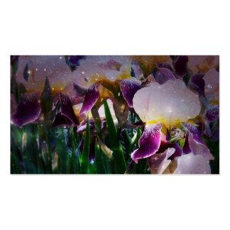 Sparkling Irises Business Card