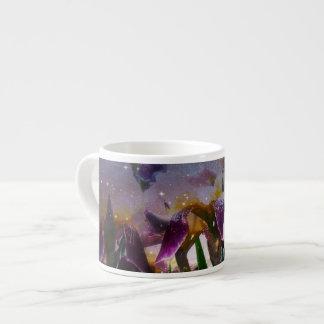 Sparkling Irises Espresso Mug