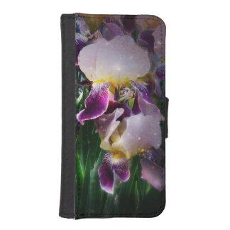 Sparkling Irises iPhone 5 Wallet Cases