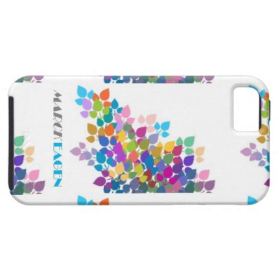 Sparkling Leave's iPhone 5/5s Vibe Case Mate iPhone 5/5S Case