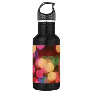 Sparkling Lights 4 18oz Water Bottle