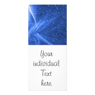 sparkling lights blue rack cards