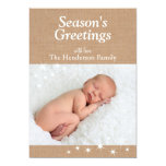 Sparkling Lights Holiday Card Personalized Invite