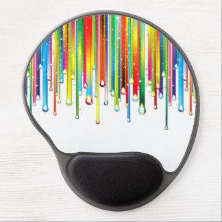Sparkling Liquid Rainbow Gel Mouse Pad