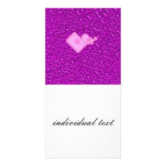 sparkling love message card