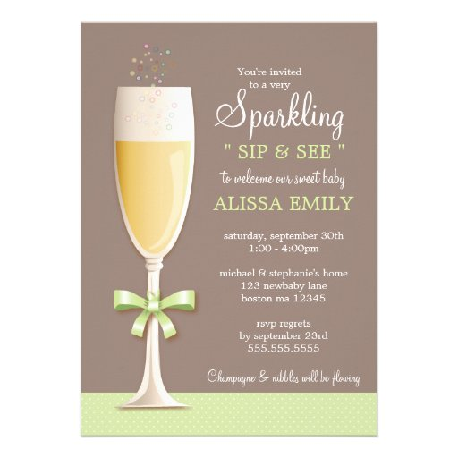 Sip And Shop Invitation as best invitation sample