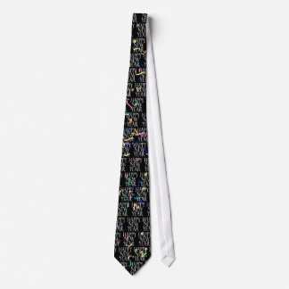 Sparkling New Years Tie