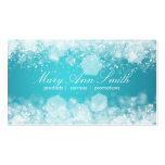 Sparkling Night Blue Professional Business Card