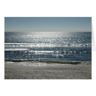 Sparkling Ocean Card
