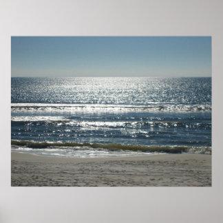 Sparkling Ocean Posters