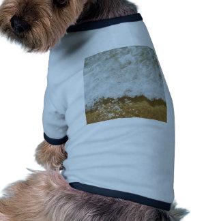 Sparkling ocean scene background shirt