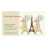 Sparkling Paris Business Card