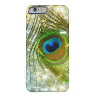 Sparkling Peacock Feather iPhone 6 case