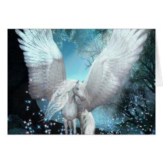 Sparkling Pegasus Greeting Card